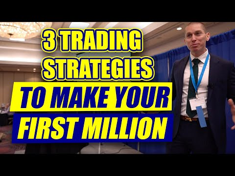 3 Options Trading Strategies To Make Your First Million
