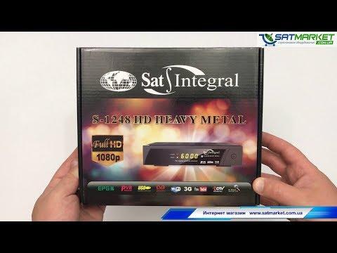 Sat-Integral S-1248 HD прошивка, настройка, тест IPTV