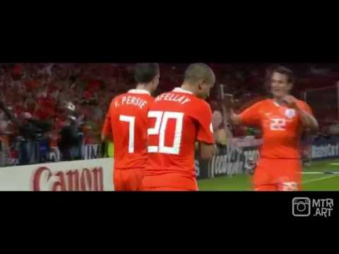 Robin van Persie - All 9 goals in EURO and World Cup