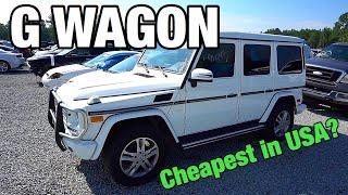 G Wagon Cheap Copart Walk Around
