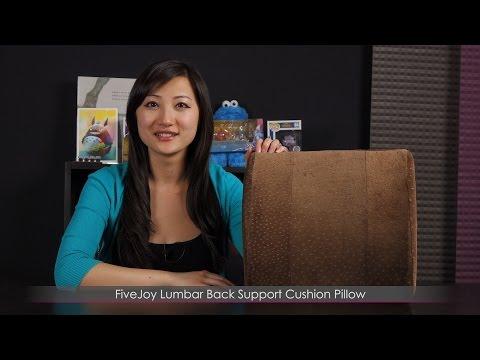 FiveJoy Lumbar Back Support Cushion Pillow
