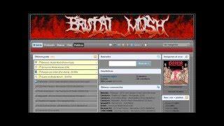 Pagina Web Metalera tipo Taringa - www.BrutalMosh.eshost.es