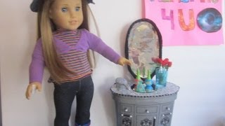 Htm A Bedroom / Make Up Vanity For Your Ag Dolls