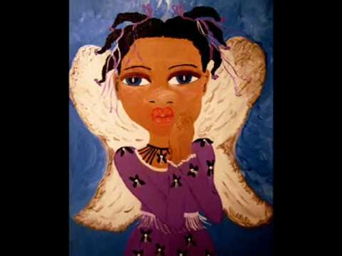 African American Art  Black Art Paintings Elle Stringfellow Black Angels African American Angels