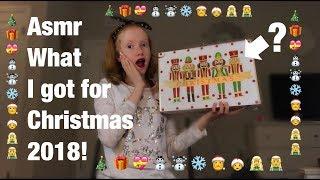ASMR ~ What I Got For Christmas |  2018