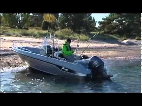 Yamarin Cross 53 Center Console Motorboot - YouTube
