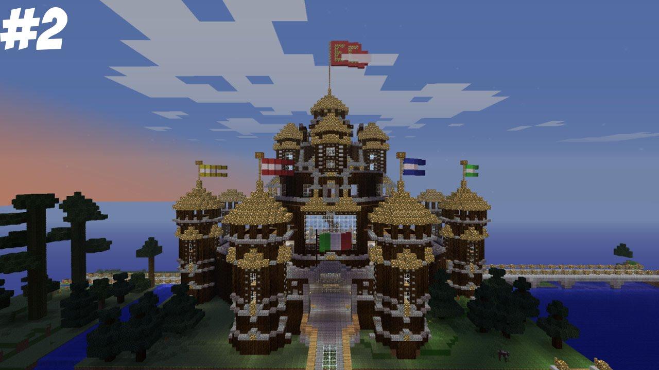 COME COSTRUIRE UN CASTELLO PAZZESCO pt.1 - Minecraft ...