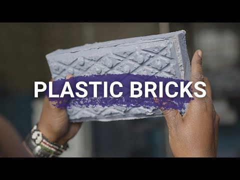 Plastic bricks in Kenya - NZAMBI MATEE - Young Champion of the Earth 2020 for Africa