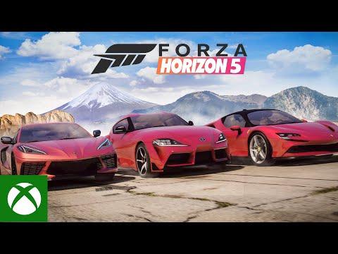 I Made Forza Horizon 5 Trailer Using GTA 5 (LOOKS Better Than You Think)