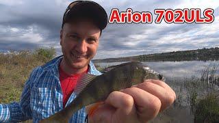 Клев рыбы на спиннинг ультралайт ловля окуня