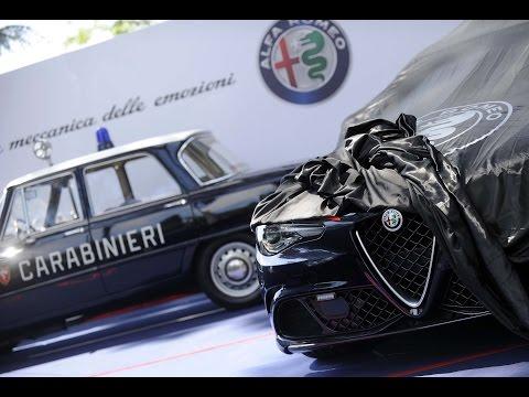 Alfa Romeo Giulia Quadrifoglio | quella dei Carabinieri