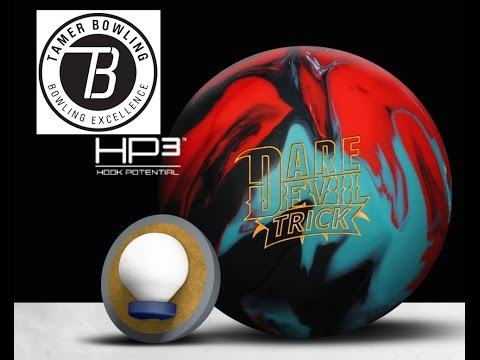 Roto Grip Dare Devil Trick Bowling Ball Review Vs Hy-Wire And Wreck-Em By TamerBowling.com