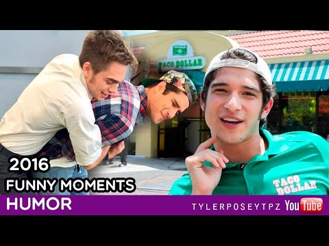 Tyler Posey  Funny Moments 2016