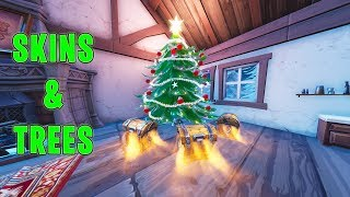 Fortnite Winter Skins COMING SOON & Christmas Trees Locations