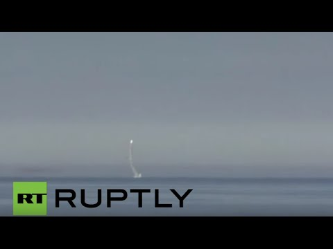Russia: Kalibr cruise missile successfully launched from Barents Sea