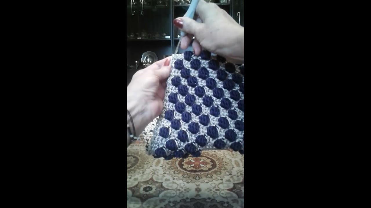 f92fe9c96e Πώς στήνουμε την τσάντα και τα πλαϊνά crochet (μέρος 1ο) - YouTube