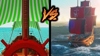 Evolution of Sea of Thieves - From 2013 to 2019