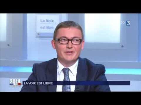 Première partie du débat sur France 3 Lorraine - Municipale 2014 à Verdun
