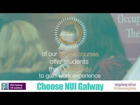 Choose NUI Galway #ChooseNUIGalway