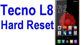 Tecno L8 Hard Reset