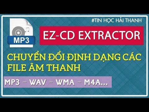 Chuyển đổi định Dạng File âm Thanh Wav Thành Mp3, M4a,... Rip Nhạc Từ đĩa CD Thành Mp3