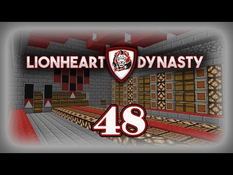 Storage Room Check! LionHeart Dynasty Episode 48 1.12 Vanilla Survival Minecraft