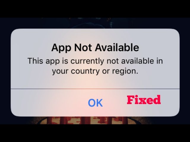pix Currently Not Available downloading apps on iphone ios