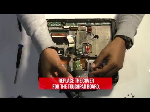 How to Replace the PCMCIA Card in a Panasonic Toughbook CF-30