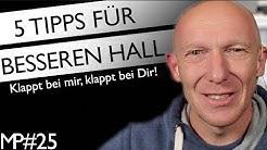 5 Tipps beim Einsatz von Hall | Mix Tutorial Deutsch | Recording-Blog Mixpraxis #25