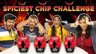 World's Most Spiciest Chip Challenge GONE WRONG | ONE CHIP CHALLENGE