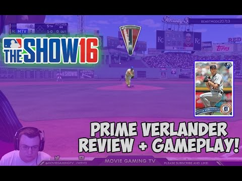 97 Prime Justin Verlander Review + Gameplay! | MLB The Show 16 Diamond Dynasty