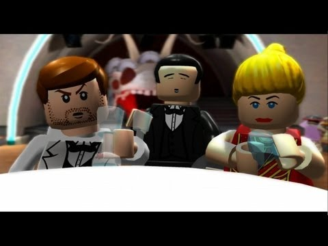 LEGO Indiana Jones: The Original Adventures Walkthrough Part 4 - Shanghai Showdown & Pankot Secrets