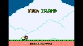 🔴 SUPER MARIO WORLD - DUCK ISLAND BY: DECENTDUCK / QUICKIE WORLD 2 BY: VALDIO