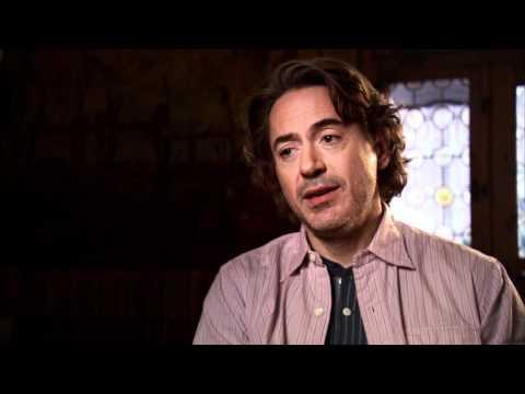 Sherlock Holmes: A Game of Shadows: Robert Downey Jr Interview Part 1