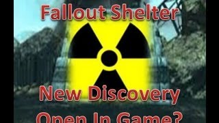 Fallout Shelter Easter Egg: New Discoveries, How to Open Shelter? In-Game (Nuketown Zombies)