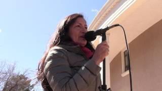Santa Fe Indian Center - Moral Monday @ New Mexico State Capitol - Debra Haaland