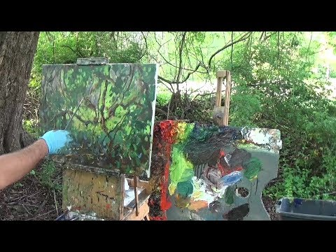 Kyle Buckland Beginner Plein Air Oil Painting Demonstration Landscape Art Demo #11