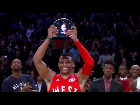 NBA All-Star Game West vs East | Full Highlights | February 14, 2016 | NBA All-Star Weekend 2016