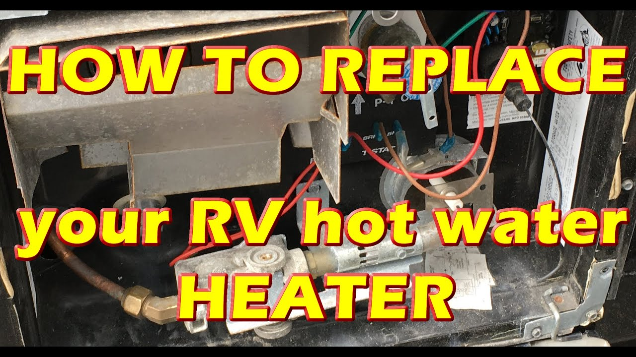 medium resolution of how to replace rv hot water tank