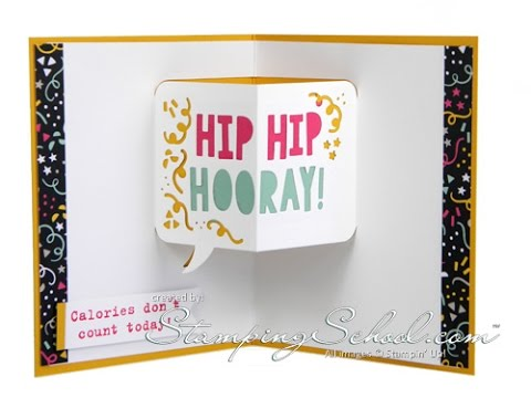 Party Pop Up Thinlits from Stampin' Up