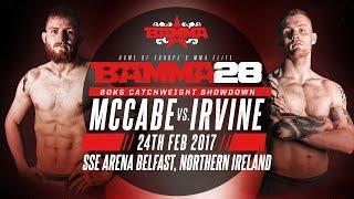 BAMMA 28 - Keith McCabe vs Glenn Irvine