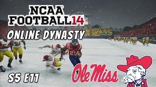 NCAA Football 14 : Online Dynasty : Ole Miss Rebels : S5 E11 : Week 13 vs USC Trojans