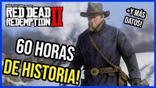 RED DEAD REDEMPTION 2: 60 HORAS DE HISTORIA Y MAS DATOS! 🔥RDR2 en español