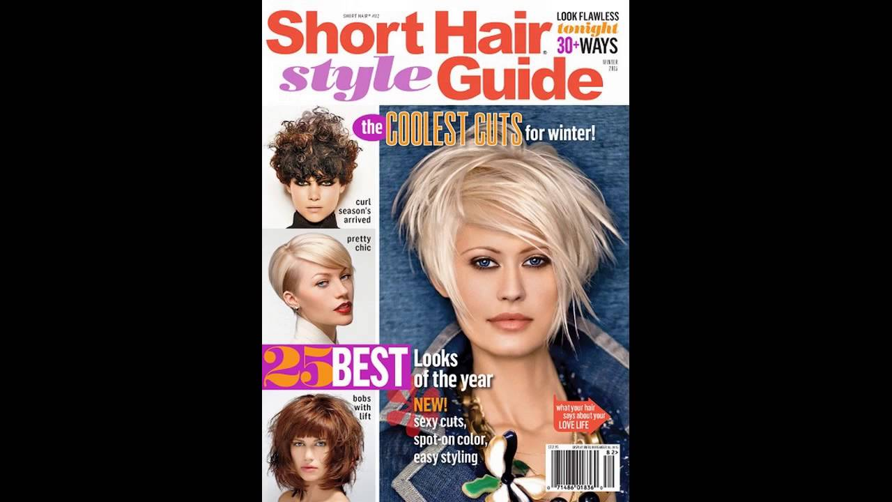 ☆ short hairstyle guide magazine short style guide ☆ Style - YouTube
