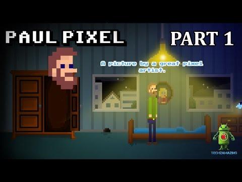 PAUL PIXEL The Awakening iOS Gameplay Walkthrough - Part 1