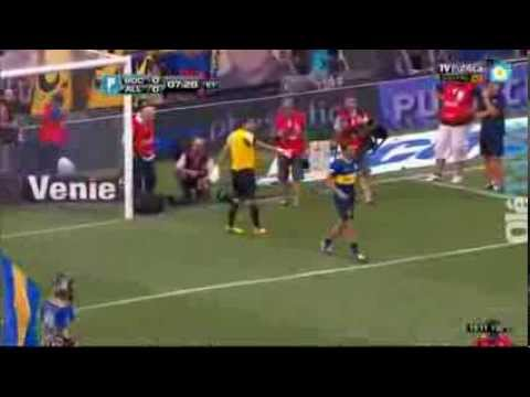 Nadal and djokovic play Football in Boca Juniors , Argentina