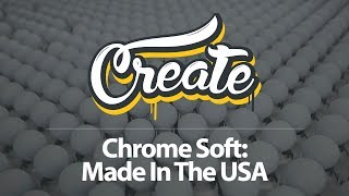 How Callaway Chrome Soft Golf Balls Are Made || Flow Motion