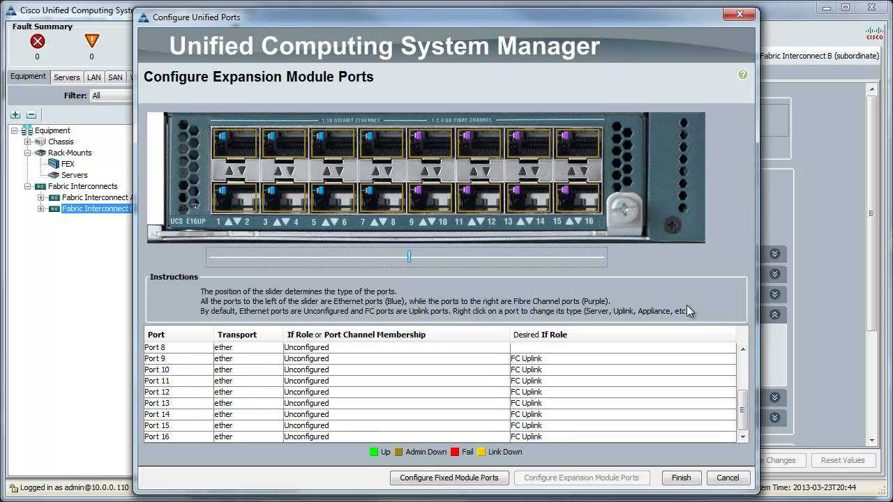 Managing Unified Ports in Cisco UCS