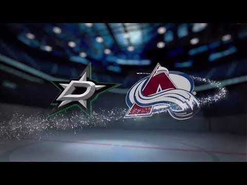 Dallas Stars vs Colorado Avalanche - November 22, 2017 | Game Highlights | NHL 2017/18. Обзор матча