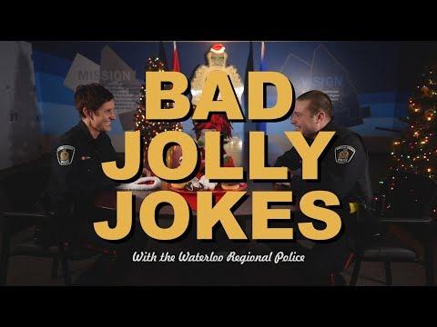 Bad Jolly Jokes with Waterloo Regional Police